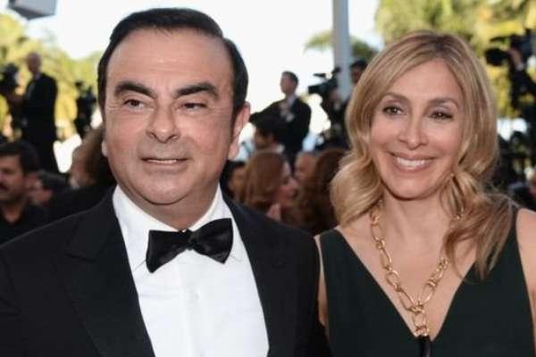 Carole Ghosn (à direita, ao lado de Carlos Ghosn) chegou a dizer que pediria ajuda aos presidentes dos EUA e do Brasil e acusou o sistema judicial japonês de não respeitar os direitos do marido