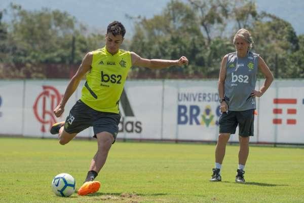 Reinier fez grande 2019 pelo Flamengo e está próximo de reforçar o Real Madrid (Foto: Alexandre Vidal / Flamengo)