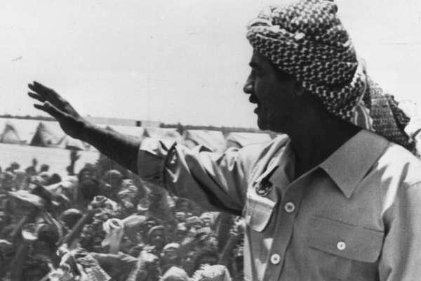 Derrubada do avião comercial iraniano ocorreu durante a guerra entre Irã e Iraque. Na época, os EUA apoiaram os iraquianos e seu líder, Saddam Hussein (à direita na foto). Anos mais tarde, os EUA entrariam em guerra contra o Iraque para derrubar Saddam Hussein