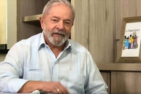 'Bolsonaro não está preparado para tocar esse País', disse Lula em live ao lado de Haddad