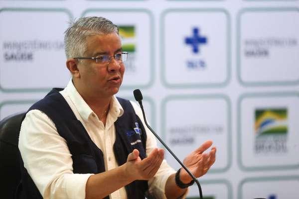 Wanderson de Oliveira, secretário nacional de Vigilância em Saúde