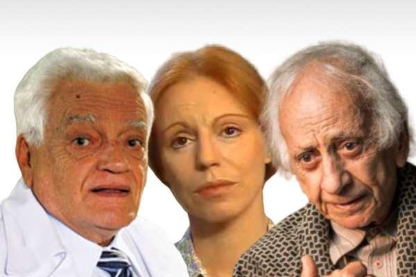 Walmor Chagas, Ariclê Perez e Flavio Migliaccio: fim da vida adiantado em consequência de profundas dores emocionais