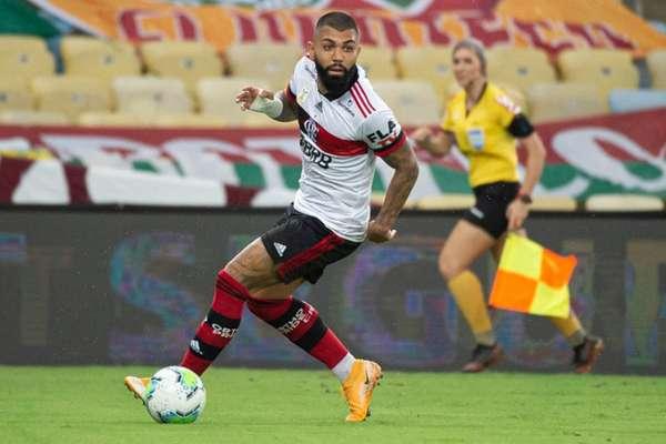 Gabigol tem 16 gols na temporada (Foto: Alexandre Vidal/Flamengo)