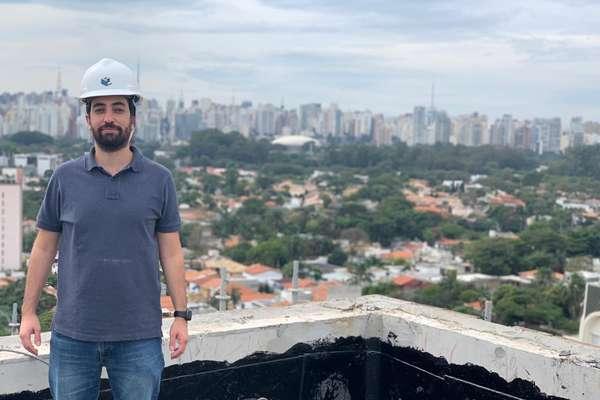O sócio-fundador da Pivô, Fernando Trotta