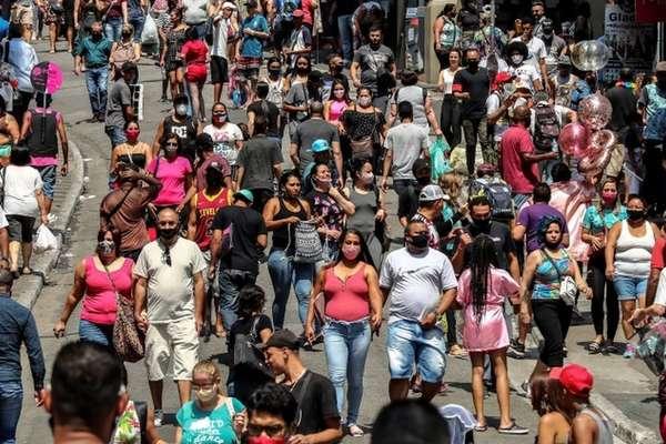 As ruas de São Paulo, estado com maior número de mortes por covid-19 no Brasil