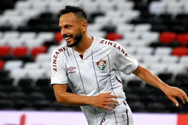 Yago Felipe marcou o gol da vitória do Fluminense no clássico (Foto: MAILSON SANTANA/FLUMINENSE FC)