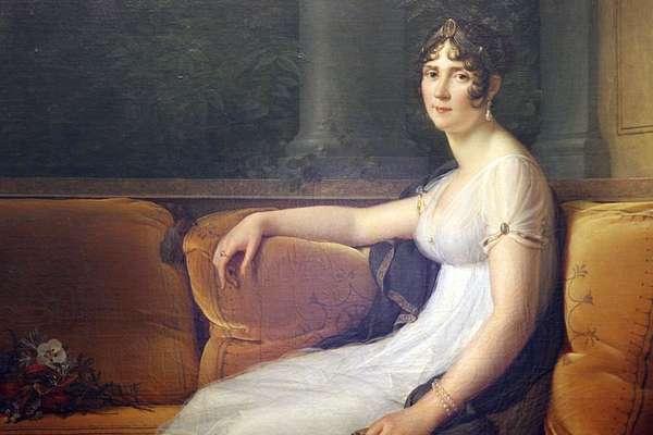Retrato de Josefina em 1801 feito pelo artista François Pascal Simon Gerard
