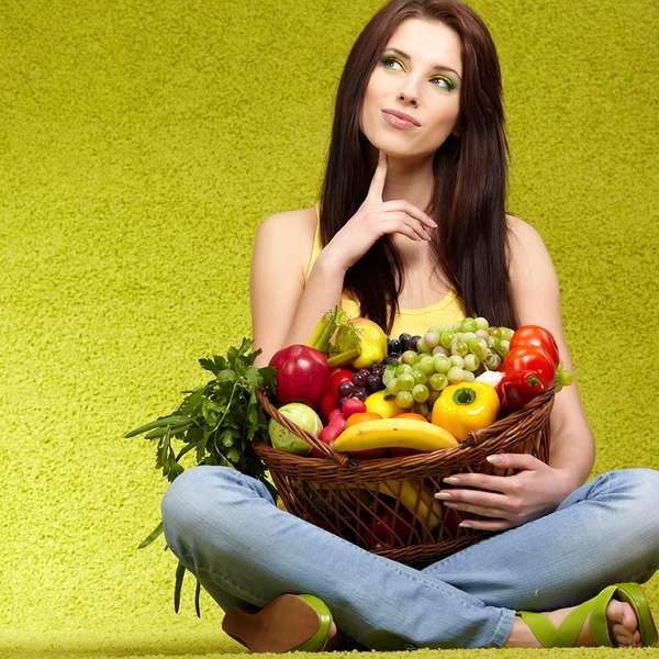 Vegetales y frutas alcalinas