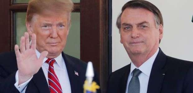 Oferta de Trump a Bolsonaro e Brasil irrita aliados na Otan