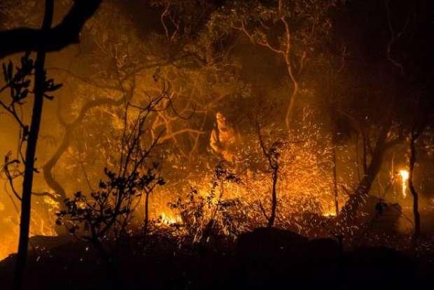 Incêndio na Chapada dos Veadeiros já consumiu mais de 25% da área total do parque