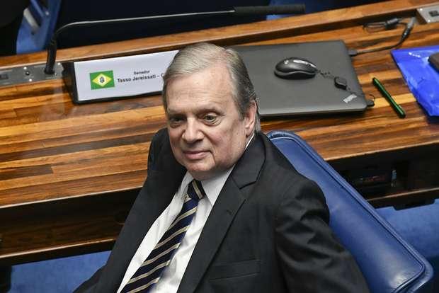 O Senador Tasso Jereissati