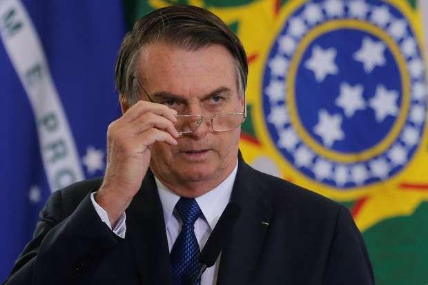 Presidente Jair Bolsonaro em Brasília 11/04/2019 REUTERS/Adriano Machado
