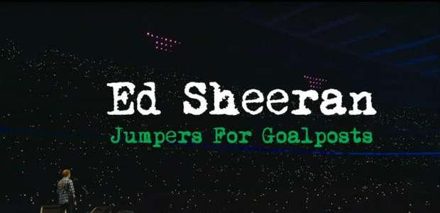 Filme de Ed Sheeran será transmitido no Brasil