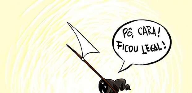 SP: cartunistas e caricaturistas fazem exposição a Niemeyer
