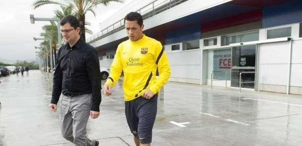 Adriano, con una sobrecarga, no jugará el derbi