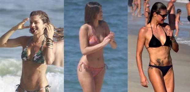 De Grazi a Marquezine: veja as musas que passaram pela praia