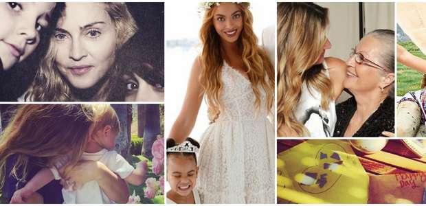 Así festejaron el Día de las Madres las famosas