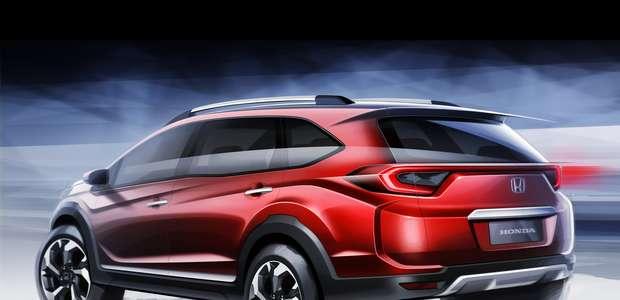 Honda prepara un nuevo prototipo, el BR-V