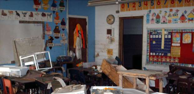 Katrina: 10 anos depois,veja escolas destruídas pelo furacão