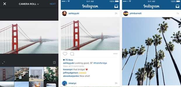 Instagram ya permite formatos verticales y horizontales