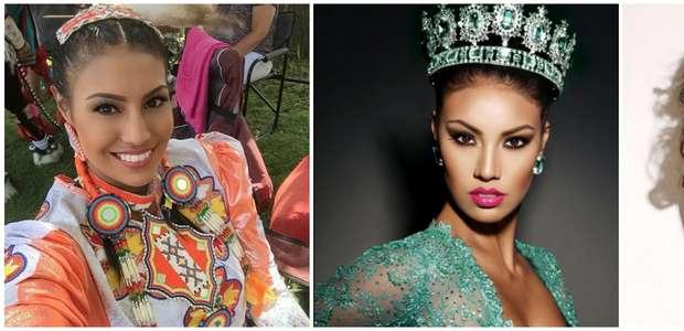 Coronan reina de belleza a una mujer indígena canadiense