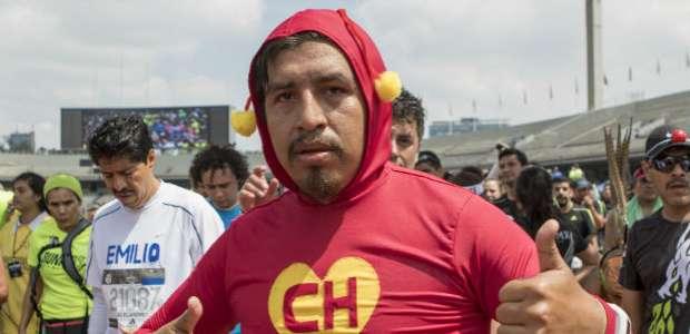 El color del Maratón de la Ciudad de México