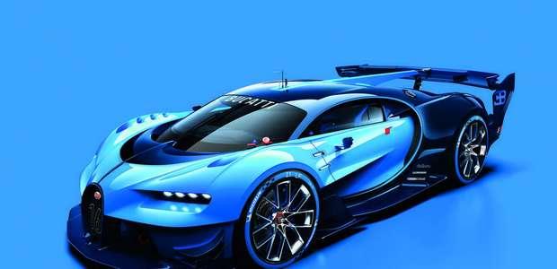 Bugatti lanzará un modelo Vision Gran Turismo en Frankfurt
