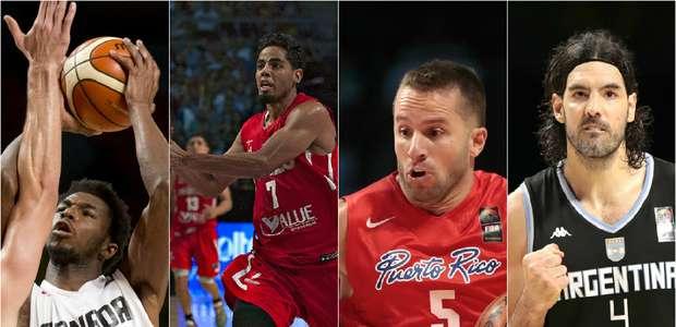 Jugadores NBA que participan en el Preolímpico FIBA 2015