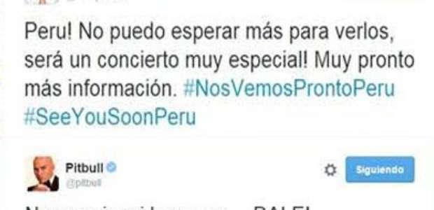 Concierto: Enrique Iglesias, Pitbull y Prince Royce en Perú