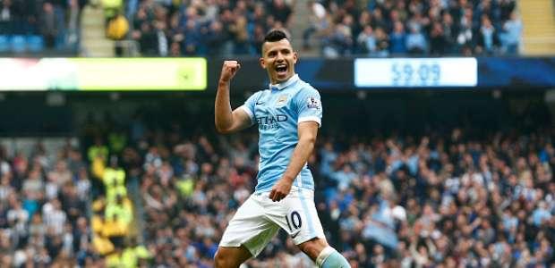 ¡5ergio Agüero! Kun se destapa en goleada de Manchester City
