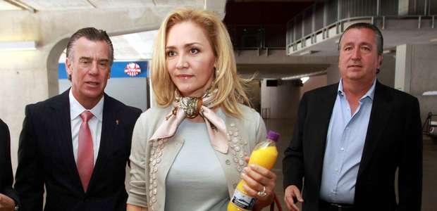Angélica Fuentes está dispuesta a negociar con Jorge Vergara