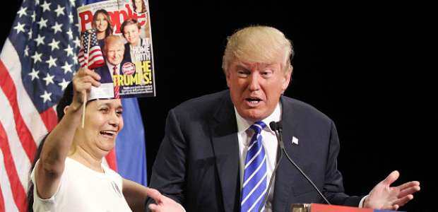 Simpatizantes de Donald Trump tienen mala ortografía