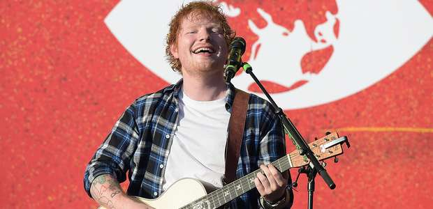Ed Sheeran deja marca histórica con 'Thinking Out Loud'