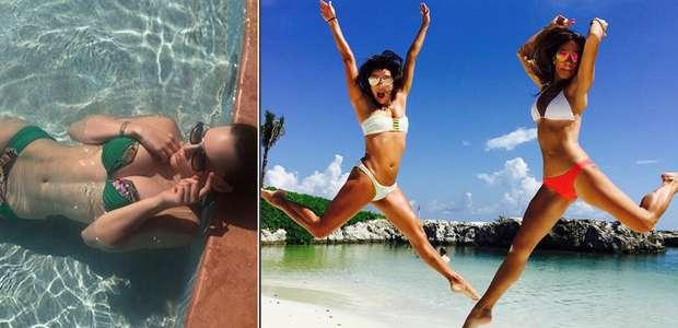 La estrella que luce mejor en bikini: Eva Longoria o Belinda