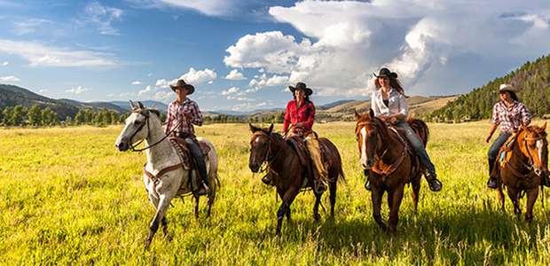The Ranch at Rock Creek: hotel con toque del Viejo Oeste