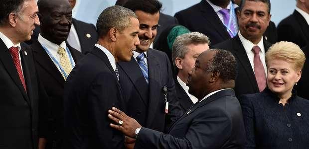 Obama em Paris: chegou o momento de salvar o planeta