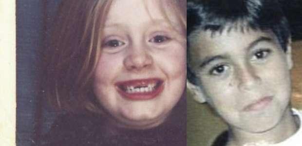 Adele y Enrique Iglesias eran unos niños adorables