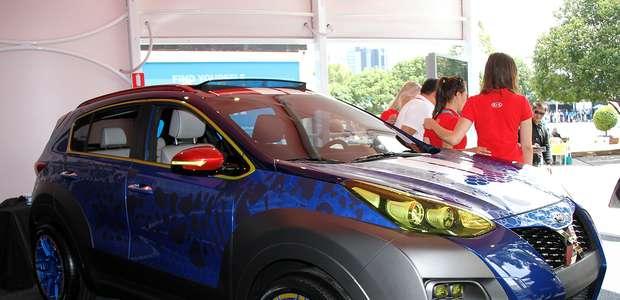 KIA Sportage X-Car Concept, un poderoso 'mutante'