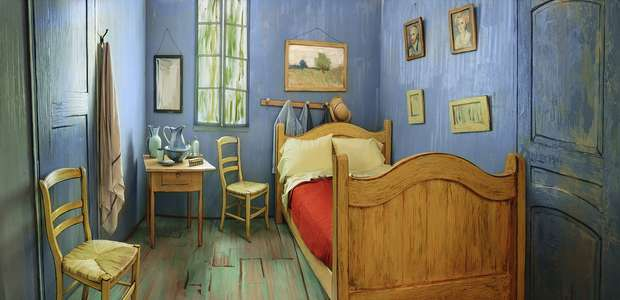 Réplica de habitación de Van Gogh podrá ser rentada