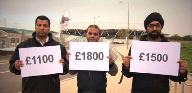 Funcionários tentam receber por trabalho em Londres 2012