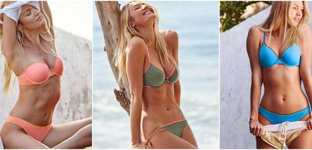 Candice Swanepoel se quita prendas para Victoria's Secret