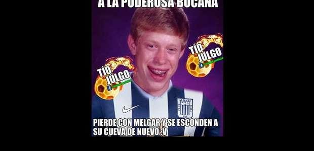 Alianza Lima pierde ante Melgar: los mejores memes