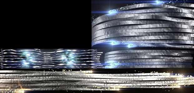 Gran show en honor al lanzamiento del nuevo Audi A5 Coupe
