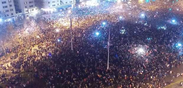 FOTOS: Todo Chile salió a las calles a festejar el ...