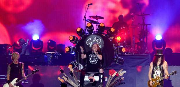 ¡Locura total! Fans arrasan con entradas para Guns N' ...