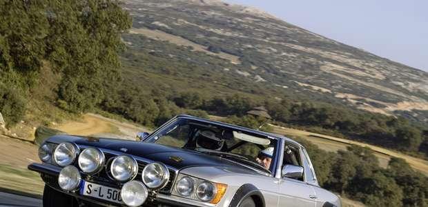 Los clásicos Mercedes-Benz en el Classic Days Schloss ...