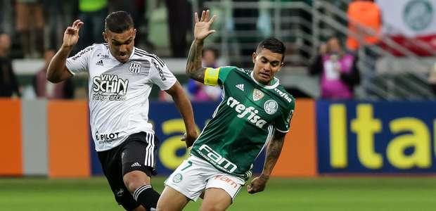 Palmeiras só empata com a Ponte e vê rivais se aproximarem