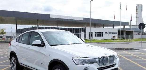 BMW inicia produção do SUV-cupê X4 no Brasil