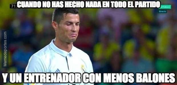 Los memes se ceban con Cristiano Ronaldo tras el empate ...