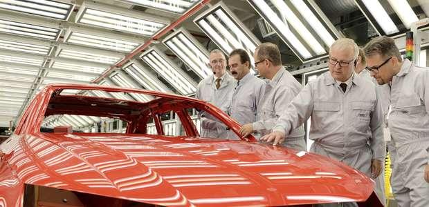 Audi inaugura una nueva planta de pintura de alta eficiencia